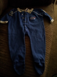 A little NASA suit for $1.00.