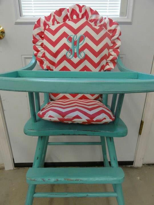 build a wooden high chair