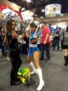 Street Fighter, baby!