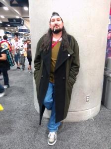 Silent Bob at Comic Con.