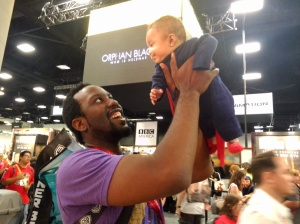 Super Baby at Comic Con 2014.
