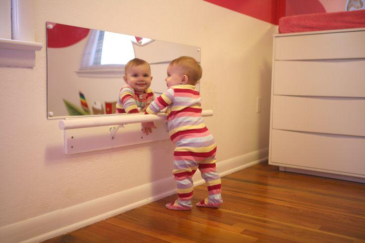 Montessori Room Mirror Barre