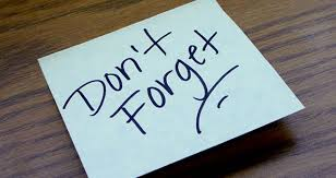 Dont-Forget-Post-It-Note