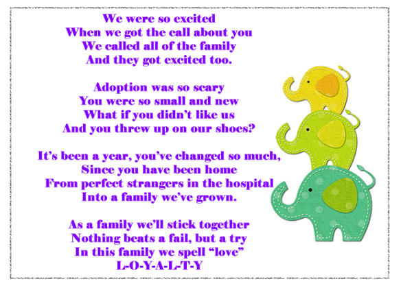 Poem For My Adopted Daughter – Air Media Design