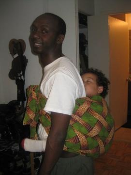 Babywearing-Kanga-Dad