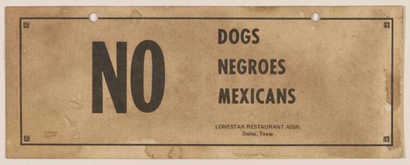 No-Dogs-No-Blacks-No-Mexicans-Dallas-TX