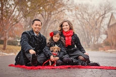 Family-Dog-Red-Outside