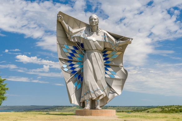 Dignity Statue South Dakota Missouri River