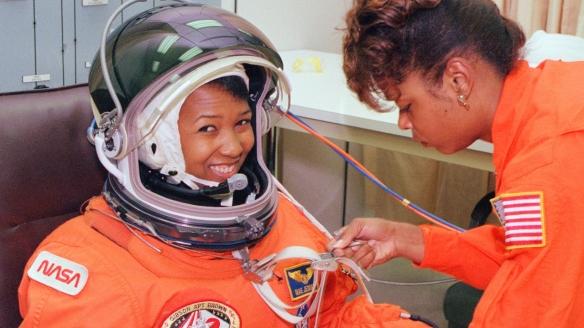 Astronaut Mae Jamison