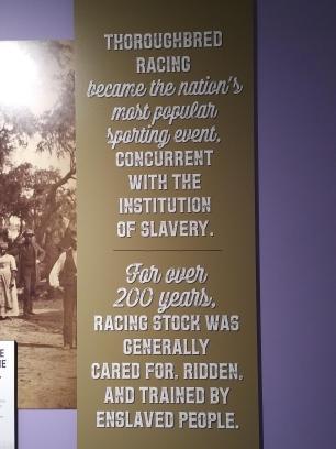 2018 KY Lexington Kentucky Horse Park Museum of the Horse Black horsemen exhibit 200 years of horse history