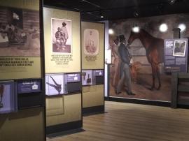 2018 KY Lexington Kentucky Horse Park Museum of the Horse Black horsemen exhibit room example