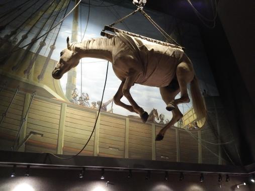 2018 KY Lexington Kentucky Horse Park Museum of the Horse how horses sailed