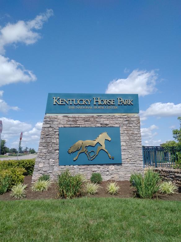 2018 KY Lexington Kentucky Horse Park sign