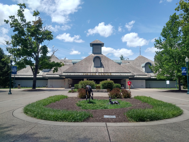 2018 KY Lexington Kentucky Horse Park Visitors Center front