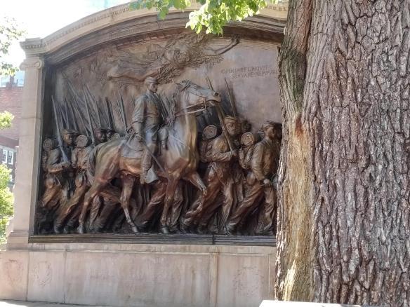 2018 MA Boston AA History Trail - 54th memorial