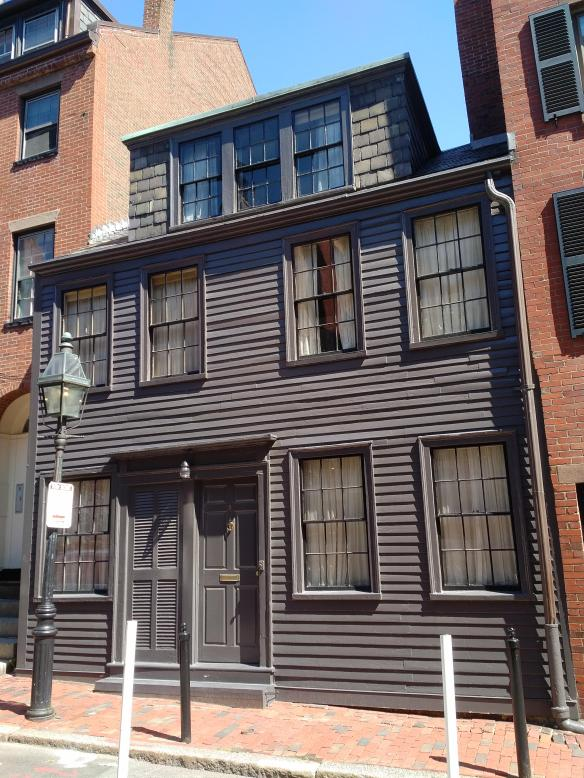 2018 MA Boston AA History Trail - George Middleton House facade