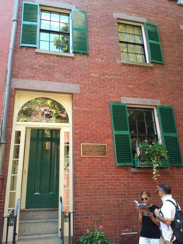 2018 MA Boston AA History Trail - Hayden House facade