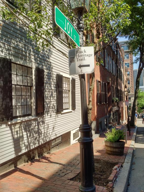2018 MA Boston AA History Trail - Joy Street