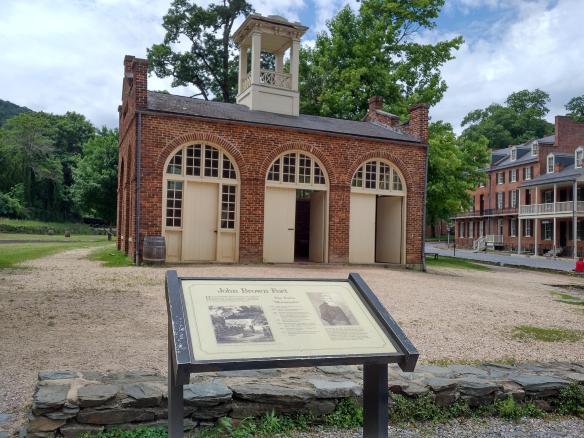 2018 WV Harpers Ferry - John Brown Fort front.jpg