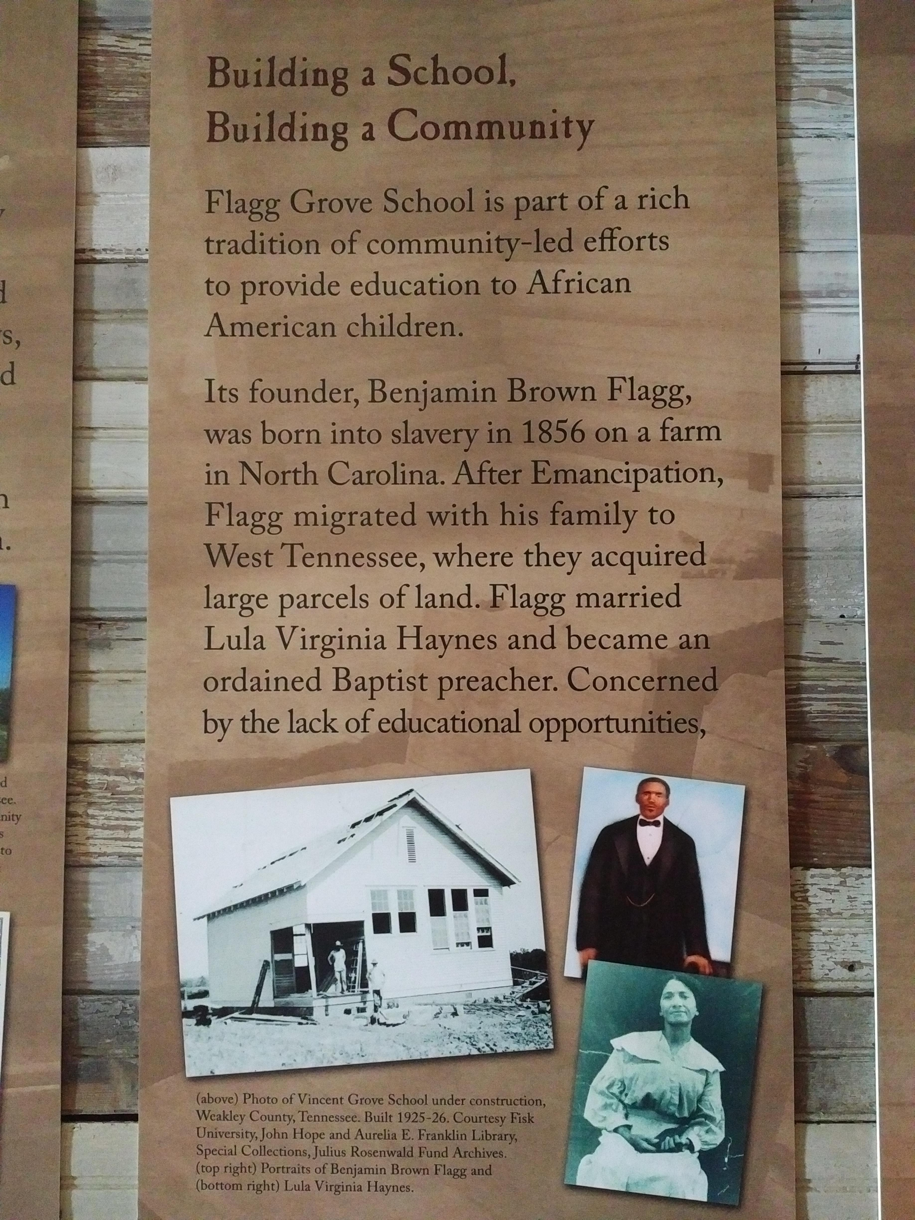 2018 TN Brownsville Delta Heritage Center - Tina Turner Museum schoolhouse history
