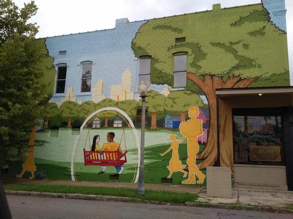2018 TN Memphis mural grocery