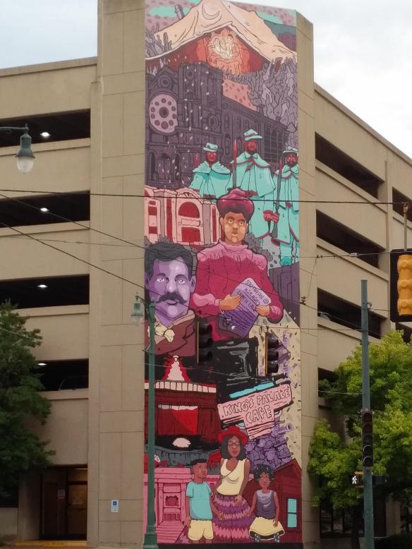 2018 TN Memphis mural Ida B Wells