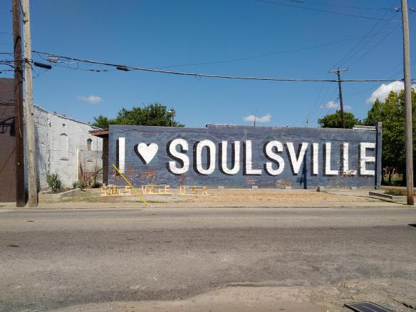 2018 TN Memphis Soulville sign