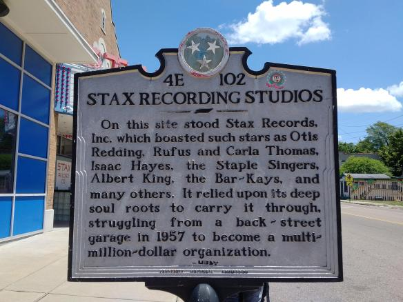 2018 TN Memphis Stax Museum historical marker