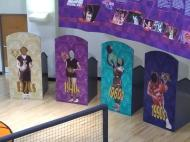 2018 TN Women Basketball Hall of Fame cutouts