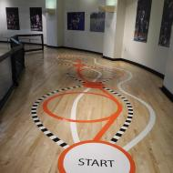 2018 TN Women Basketball Hall of Fame dribbling course